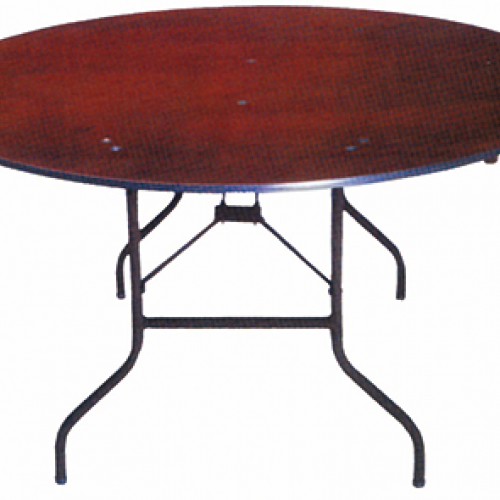 Table pieds repliable 8/10 pers 150 Ø